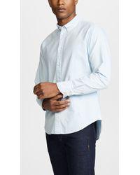 Rag & Bone - Fit 2 Tomlin Oxford Shirt - Lyst
