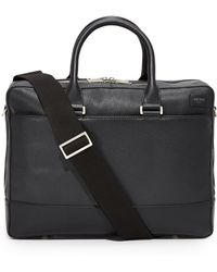 Jack Spade - Pebbled Leather Commuter Briefcase - Lyst
