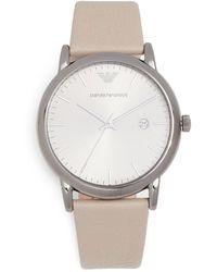 Emporio Armani - Luigi Watch, 43mm - Lyst
