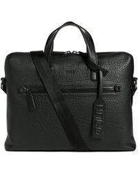 HUGO - Victorian Leather Briefcase - Lyst