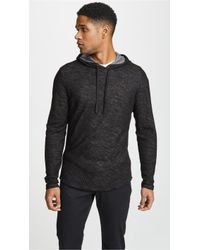 Vince - Double Knit Hoodie - Lyst