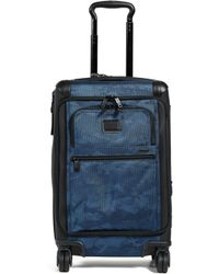 Tumi - Alpha Front Lid International Carry-on (navy Restoration) Carry On Luggage - Lyst