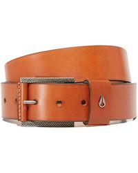 Nixon - Americana Leather Belt - Lyst