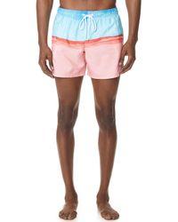 Sundek - Elastic Waist Shorts - Lyst