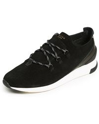 H by Hudson - Trelawny Suede Trainers - Lyst