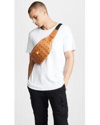 MCM - Stark Medium Belt Bag - Lyst