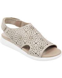 Easy Spirit - Posie Flat Sandals - Lyst
