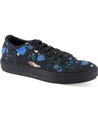 Acne Studios Adrian Terrazzo Sneaker Bluedrkc - Lyst