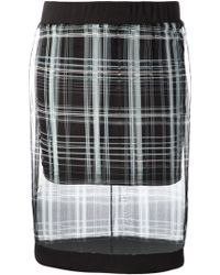 Elizabeth And James Iona Plaid Skirt - Lyst
