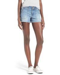 Jolt - Denim Shorts - Lyst
