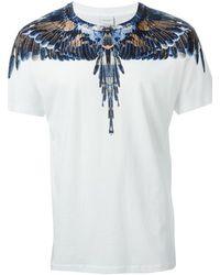 Marcelo Burlon Printed T-Shirt - Lyst