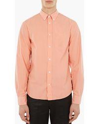Acne | Coral 'isherwood' Pop Shirt | Lyst