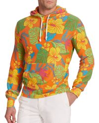 Polo Ralph Lauren Floral Terry Hoodie - Lyst