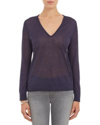 J Brand Julia Vneck Sweater - Lyst