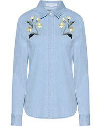 Stella McCartney | Denim Therese Shirt | Lyst