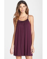 Midnight By Carole Hochman - 'looking For Love' Chemise - Lyst