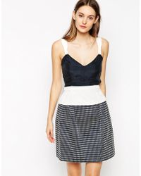 See By Chloé Peplum Cami Top - Lyst