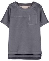 Jason Wu Silkchambray Top - Lyst