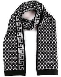 Versace Greek Key Scarf - Lyst