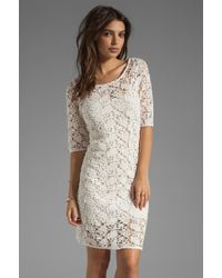 Velvet By Graham & Spencer X Lily Aldridge Lily Crochet Lace Dress - Lyst