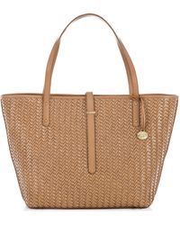 Brahmin All Day Leather Lattice Tote Bag - Lyst