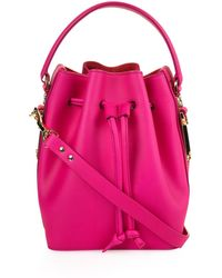 Sophie Hulme - Fleetwood Small Leather Bucket Bag - Lyst