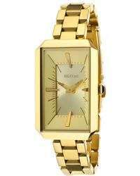 Nixon Womens Paddington Gold-tone Steel and Dial - Lyst