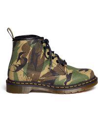 Dr. Martens Cerren Camouflage Canvas Boots - Lyst