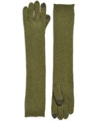 Echo - 'touch' Yak Wool Tech Gloves - Lyst