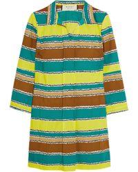 Marni Striped Cotton Tunic - Lyst