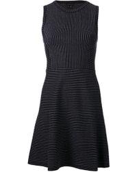 Theory Randria Evian Stretch Dress - Lyst