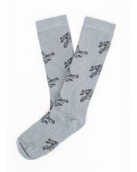 Billy Reid Organic Cotton Sock - Lyst