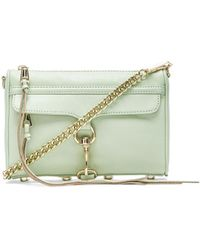 Rebecca Minkoff Mini MAC Leather Bag - Lyst