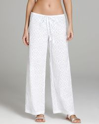 Tommy Bahama - Woven Medallion Swim Cover Up Trousers - Lyst