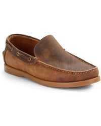 Bed Stu Uncle Lawrence Leather Loafers - Lyst