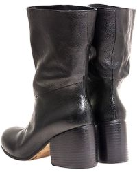 Marsell Black Zuccotta Boot - Lyst
