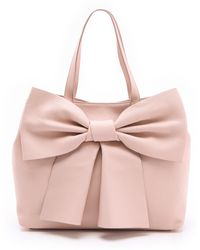 RED Valentino Large Bow Tote - Lyst