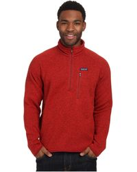 Patagonia Better Sweater® Fleece 1/4-Zip - Lyst