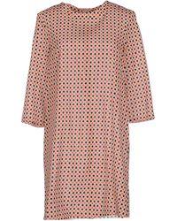 Laura Urbinati Short Dress - Lyst