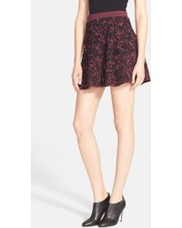 Opening Ceremony 'Cabbage' Jacquard Knit Skirt multicolor - Lyst