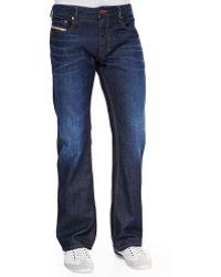 Diesel Zatiny 73N Dark & Faded Jeans - Lyst