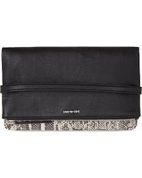McQ by Alexander McQueen Snakeskin Fold-Up Clutch Bag - For Women - Lyst