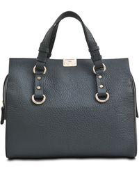 DSquared2 Quebec Grained Leather Bowling Bag - Lyst
