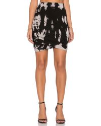 Gypsy 05 - Shirred Mini Skirt - Lyst