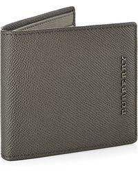 Burberry Leather Folding Wallet - Lyst