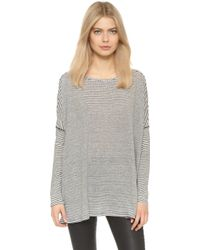 Air By Alice + Olivia - Bradwin Oversized Rectangle Top - Lyst