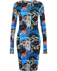 House Of Holland True Romance Short Midi Dress - Lyst