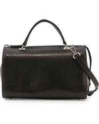 CoSTUME NATIONAL - Leather Large Satchel Bag - Lyst