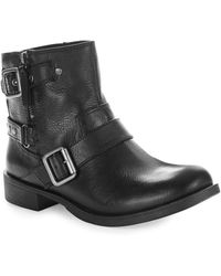 Nine West Tieler Leather Boots - Lyst