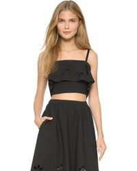 Elizabeth and James - Dallas Top - Black - Lyst